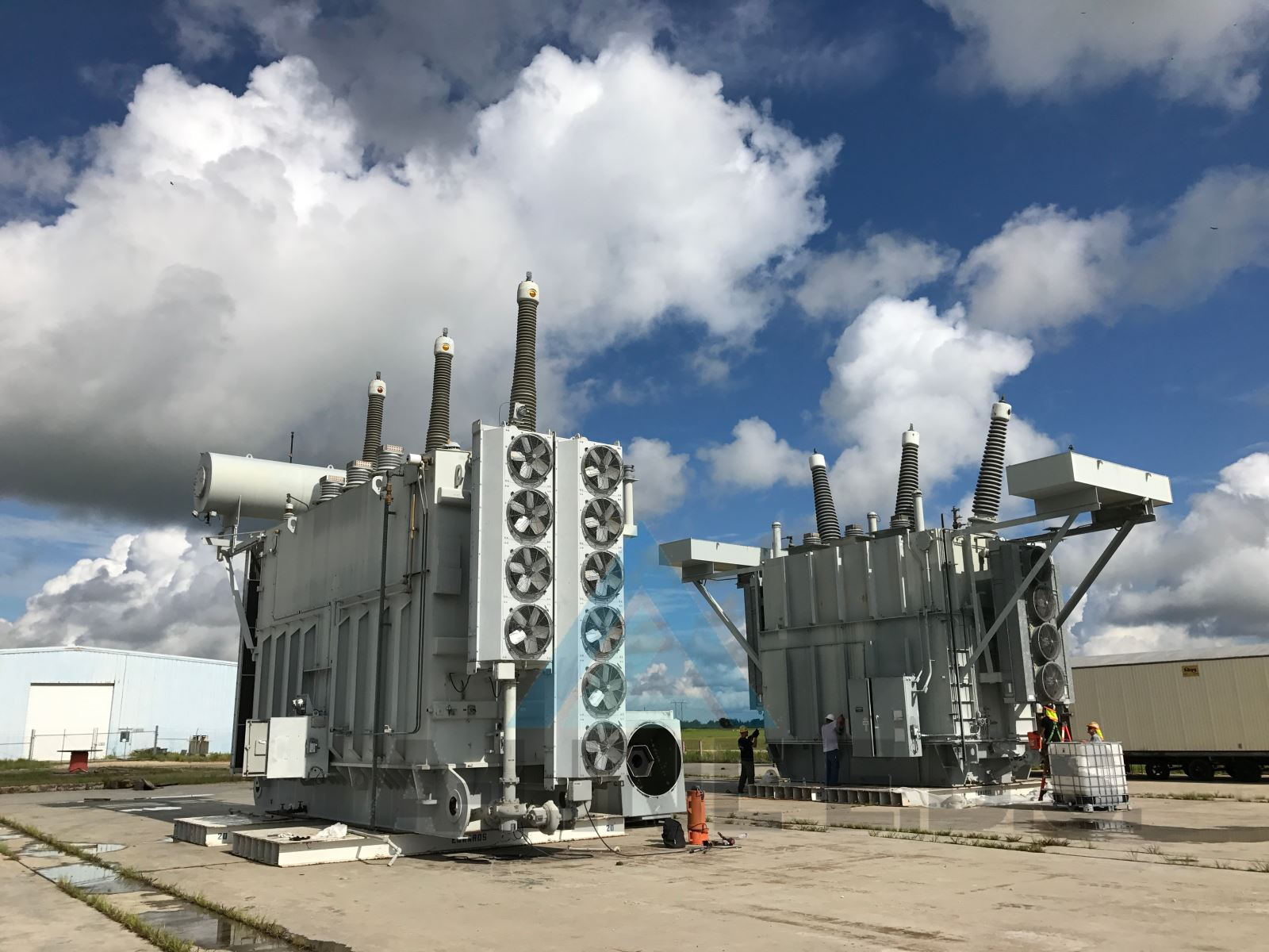 Large Transformer Recycling at Nuclear Facility